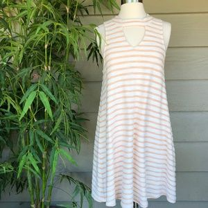 Anthropologie Others Follow Striped Dress